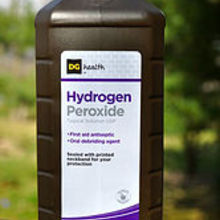 hydrogen peroxide how to use it as a bleach alternative, cleaning tips, Hydrogen Peroxide is a safe alternative to bleach in the home