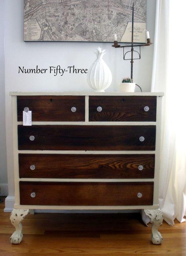 Two Toned Antique Dresser Hometalk
