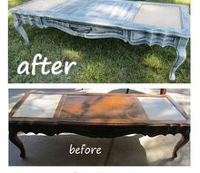 big change with a little paint, painted furniture