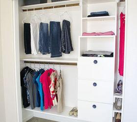 Diy Closet Kit For Under 50, Closet, Organizing, Shelving Ideas, Storage  Ideas
