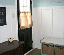 mudroom makeover, foyer, home decor, laundry rooms