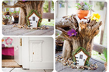 the magical use of creative craft and imagination, crafts, doors, home decor, Fairy Doors