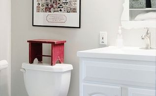 before and after vintage bathroom, bathroom ideas, home decor