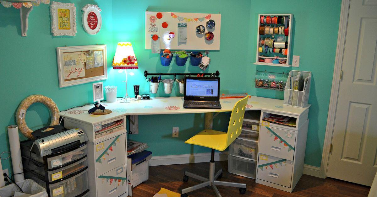 Craft Room Reveal Hometalk