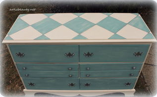 harlequin dresser chalk paint, chalk paint, painted furniture