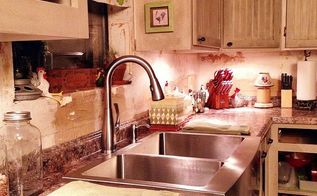 installing a farmhouse sink, diy, how to, kitchen design, plumbing, Our new apron front stainless steel farmhouse sink