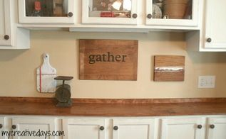 repurposed wood cutting boards, home decor, kitchen design, repurposing upcycling, Repurposed Wood Cutting Boards