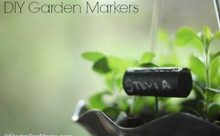 diy garden marker, crafts, gardening, So easy to make with a wine cork