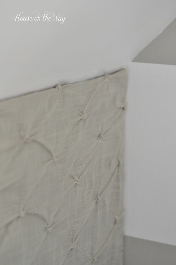 How to Make a DIY Fabric Covered Pin Board Wall for Less ...