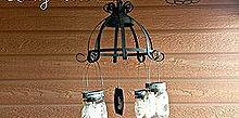 diy mason jar solar chandelier, diy, lighting, mason jars, outdoor living, repurposing upcycling