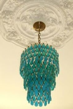 funky fun and colorful chandy s, home decor, lighting