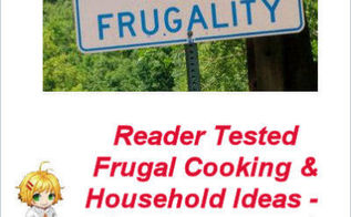 reader tested frugal cooking and household tips, cleaning tips