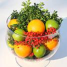 a seasonal holiday arrangement, christmas decorations, crafts, seasonal holiday decor, a DIY Citrus Arrangement