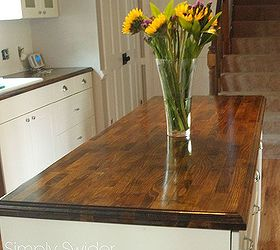 creating custom high end butcher block counter tops for cheap countertops diy how - Least Expensive Countertops