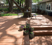 you won t believe this amazing deck restoration from old to fab, decks, home maintenance repairs