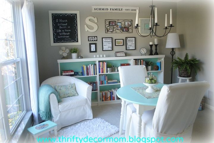 Dining Room Turned Library Entertainment Rec Rooms Home Decor Summer 2012