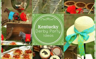 kentucky derby party ideas, crafts, wreaths