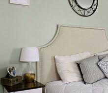 diy upholstered headboard, diy, painted furniture, woodworking projects, DIY Upholstered Headboard