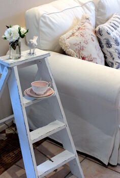 a vintage ladder annie sloan chalk paint, chalk paint, painted furniture, repurposing upcycling, Vintage ladder