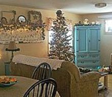 home for the holidays, seasonal holiday decor, Even small living spaces can be beautiful and festive
