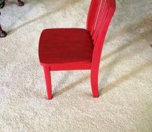 another little chair, painted furniture
