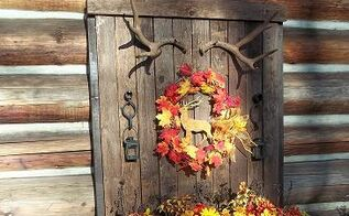 display planter using recycled materials, christmas decorations, repurposing upcycling, seasonal holiday decor, wreaths