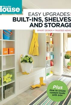 build a mini mudroom, home decor, laundry rooms, We followed the directions in this book for the how to