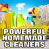 simple but powerful homemade cleaners, cleaning tips