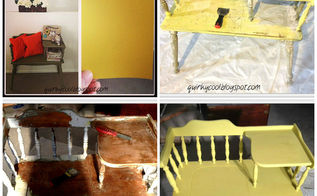 upcycled telephone desk, painted furniture, repurposing upcycling, The process