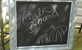 up cycle outdated artwork to chalkboards, chalkboard paint, crafts, repurposing upcycling