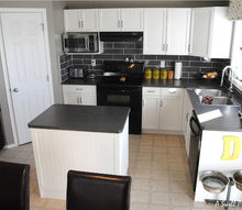 our 850 kitchen renovation, home decor, kitchen backsplash, kitchen design, Kitchen After