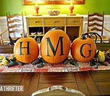 fall table ideas, seasonal holiday decor