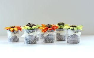 paper towel tubes paper flower party favors, crafts, Fill the tubes with candy or other small items