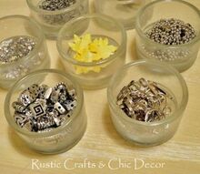 five unique storage ideas for craft supplies, cleaning tips, The first handy container is a simple glass tea light holder These are perfect for separating out those tiny craft supplies like beads
