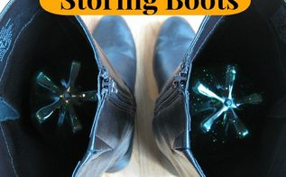 how to store your boots, cleaning tips, repurposing upcycling, An easy and free way to store your boots
