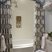 bathroom shower curtain idea, bathroom ideas, home decor, small bathroom ideas