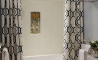 bathroom shower curtain idea, bathroom ideas, home decor, small bathroom ideas