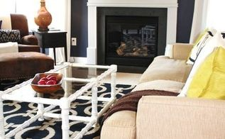 right now salute to navy, home decor, living room ideas