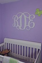 knock off pottery barn monograms, bedroom ideas, crafts, home decor