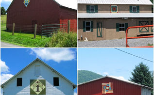 unfolding chalk paint to the barn quilt movement, chalk paint, curb appeal, diy, home decor, outdoor living, painting, An adventurous tour of the Burkes Garden Virginia community yielded numerous brilliant examples of barn squares made by local families
