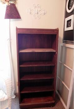 repurposed bookshelf, cleaning tips, storage ideas, bookcase before