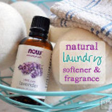 natural laundry fragrance and softener, cleaning tips, Method for natural laundry fragrance and softener using Lavender Essential Oil
