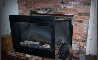 my diy fireplace insert, diy, electrical, fireplaces mantels, how to