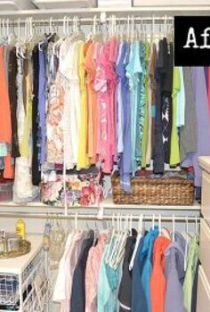 how to organize your closet, closet, organizing, I like to group my shirts by sleeve length and color It makes it so much easier to find what you re looking for