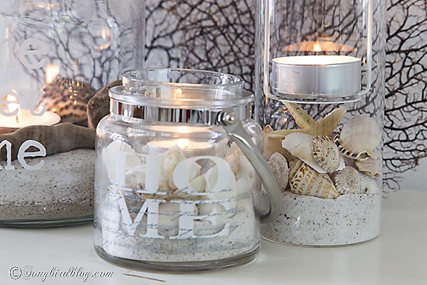easy beach lanterns diy crafts home decor - Diy Beach Decor