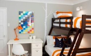 a boy s room makeover invites discovery of the great indoors, bedroom ideas, home decor, painted furniture