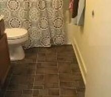 how to lay vinyl tile, bathroom ideas, diy, flooring, how to, tile flooring