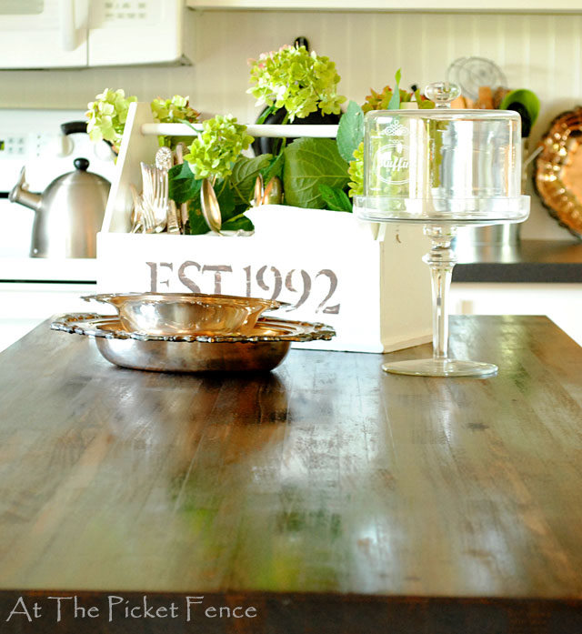 Taking Your Kitchen Island From Dated To Darling My Kitchen Island Transformation Home Decor