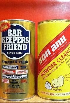 bon ami bar keepers friend, cleaning tips, my new friends