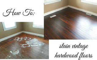 how to stain and seal a vintage hardwood floor, flooring, hardwood floors, painting
